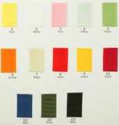 Цветовая карта 001