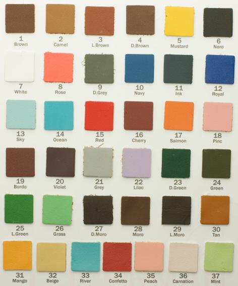 Цветовая карта 009-A