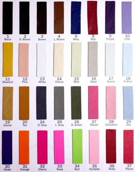 Цветовая карта 169