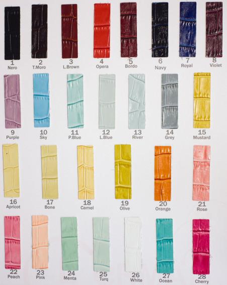 Цветовая карта 197