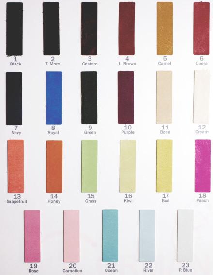 Цветовая карта 210