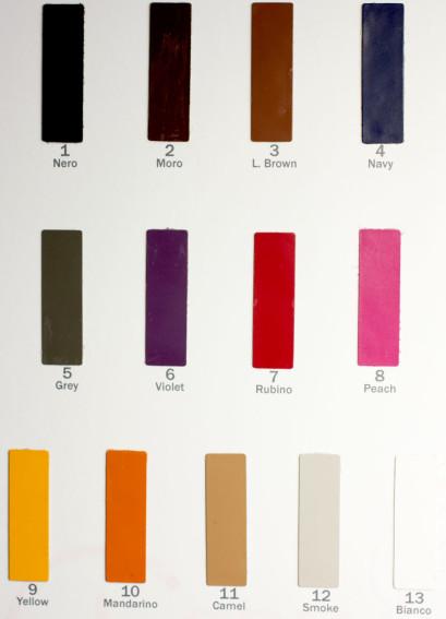 Цветовая карта 318